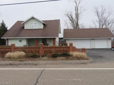 Guernsey County Single Family Home For Sale: 9250 Cadiz Rd