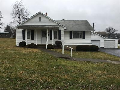 Zanesville Single Family Home For Sale: 833 Leonard Ave