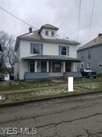 Guernsey County Multi Family Home For Sale: 410 & 412 South 11th St
