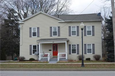 Canfield Single Family Home For Sale: 40 East Main St
