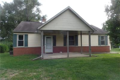 Nashport OH Single Family Home For Sale: $119,500