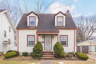 Lorain County Single Family Home For Sale: 1133 West 21st St