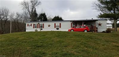 Guernsey County Single Family Home For Sale: 62121 Savage Rd