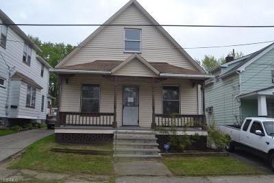 Cleveland Single Family Home For Sale: 7428 Indiana Avenue