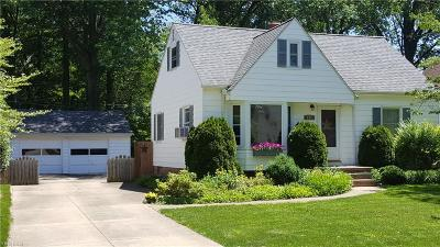 Avon Lake Single Family Home For Sale: 185 Beck Road