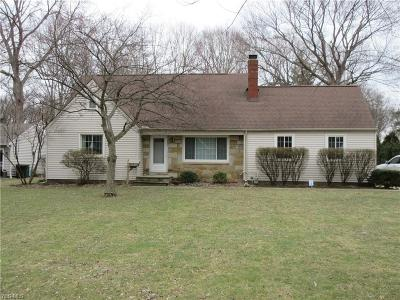 Mentor Single Family Home For Sale: 8021 Middlesex Rd