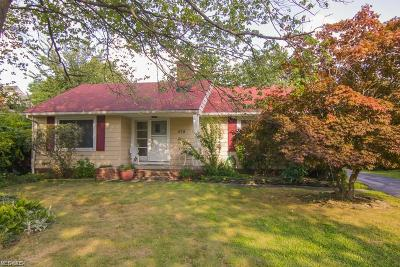 Highland Heights Single Family Home For Sale: 579 Bishop Rd