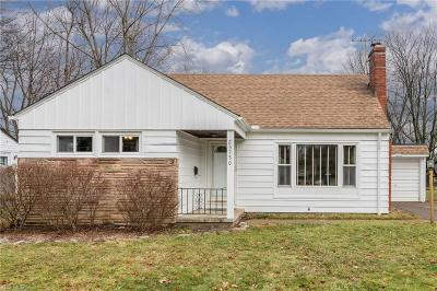 North Olmsted Single Family Home For Sale: 23750 Gessner Rd