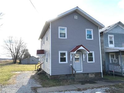 Single Family Home For Sale: 209 South Saint Clairsville Rd