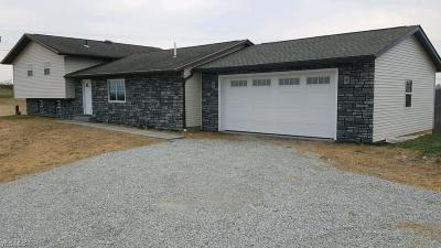 Guernsey County Single Family Home For Sale: 64545 Haught Rd