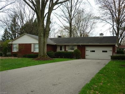 Canfield Single Family Home For Sale: 225 Sleepy Hollow Dr
