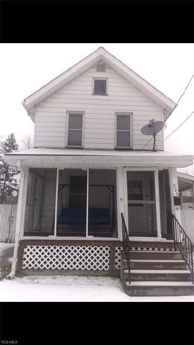 Warren Single Family Home For Sale: 526 Hall Ave.