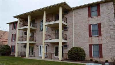 Youngstown Condo/Townhouse For Sale: 7380 Eisenhower Dr #3