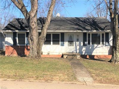 Zanesville Single Family Home For Sale: 1403 National Way