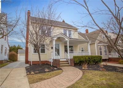 Euclid Single Family Home For Sale: 296 East 210 St