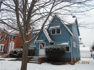 Euclid Single Family Home For Sale: 55 East 213th St