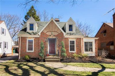 Rocky River Single Family Home For Sale: 3257 Goldengate Ave