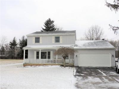 Single Family Home For Sale: 8050 Stearns Rd