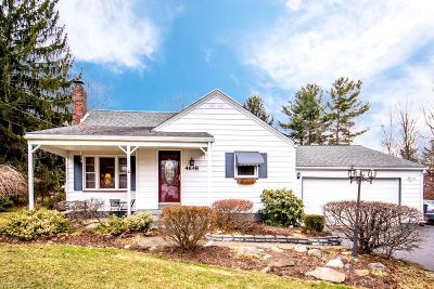 Canfield Single Family Home For Sale: 4648 Canfield Rd