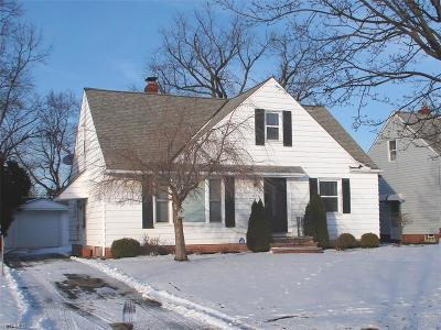Single Family Home Sold: 5375 Huron Rd