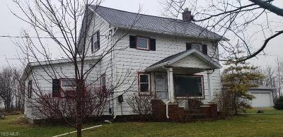 Ashland County Single Family Home Contingent: 1422 County Road 251