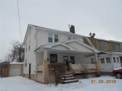 Cleveland Single Family Home For Sale: 16608 Burnside Ave