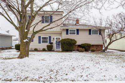 Parma Single Family Home For Sale: 3180 Marda Dr