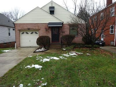 Cleveland OH Single Family Home For Sale: $110,000