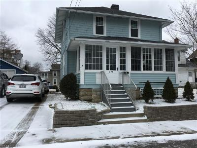 Painesville OH Single Family Home For Sale: $93,900