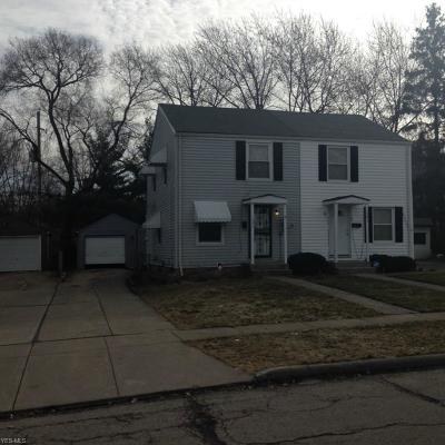 Euclid Single Family Home For Sale: 1499 East 250th St