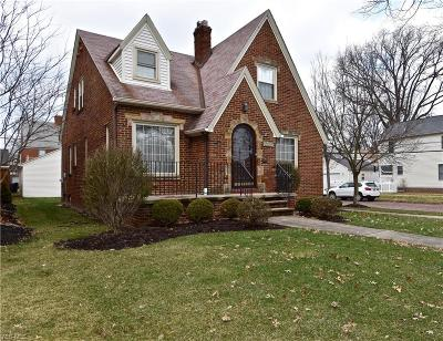 Cleveland OH Single Family Home For Sale: $219,000