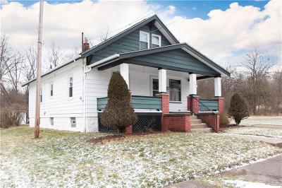 Youngstown Single Family Home For Sale: 1230 Kimmel St