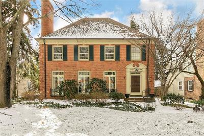 Shaker Heights Single Family Home Contingent: 22576 Calverton Rd