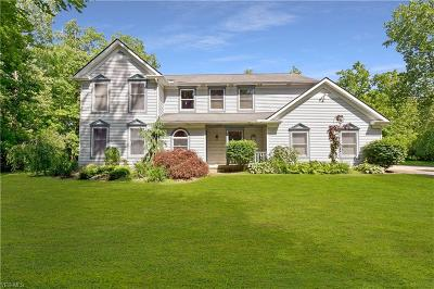 Chagrin Falls Single Family Home For Sale: 9231 Moccasin Run