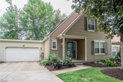 Twinsburg Condo/Townhouse Contingent: 9553 Olde Pond Ln