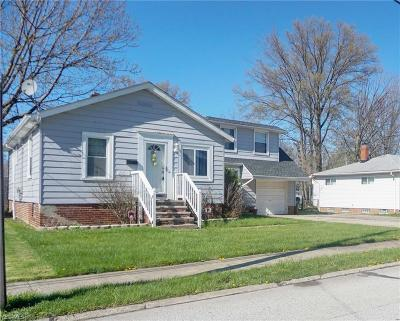 Willowick Single Family Home For Sale: 30325 Harrison St