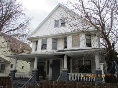 Cleveland Multi Family Home For Sale: 2023 West 93rd St
