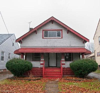 Cleveland Single Family Home For Sale: 3972 East 154th St