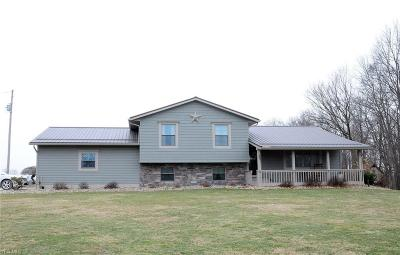 Guernsey County Single Family Home For Sale: 20420 Ranger Rd