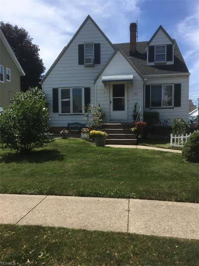 Parma Single Family Home For Sale: 7015 Gilbert Ave
