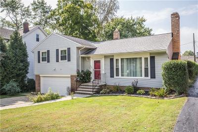 Beachwood Single Family Home For Sale: 3434 Rexway Ave