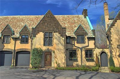 Cleveland Single Family Home For Sale: 12419 Fairhill Rd