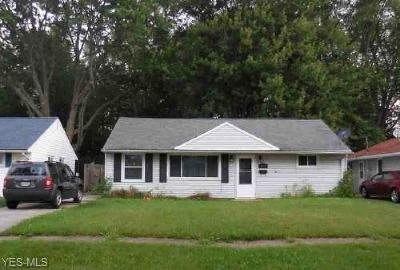 Lorain County Single Family Home For Sale: 4171 Belle Ave