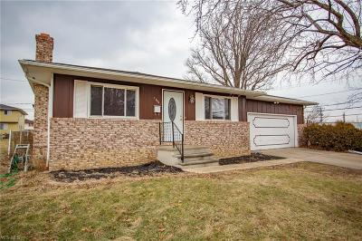 Euclid Single Family Home For Sale: 1396 East 264 St