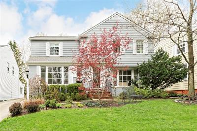 Shaker Heights Single Family Home For Sale: 22511 Rye Rd