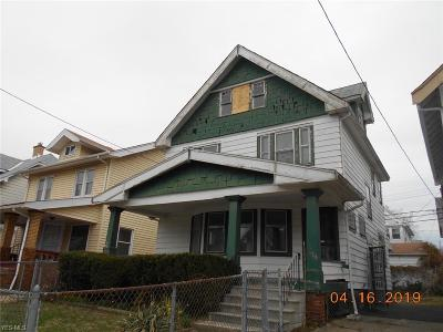Cleveland Single Family Home For Sale: 479 E 118th Street