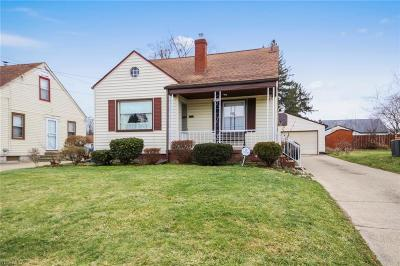 Youngstown Single Family Home For Sale: 1319 Aberdeen Ave