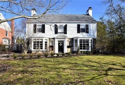 Shaker Heights Single Family Home Contingent: 2687 Rocklyn Rd