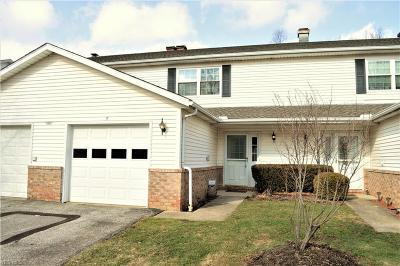 Twinsburg Condo/Townhouse For Sale: 1801 Rolling Hills Dr #E
