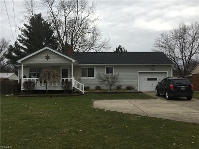 Youngstown Single Family Home For Sale: 2403 Canfield Rd